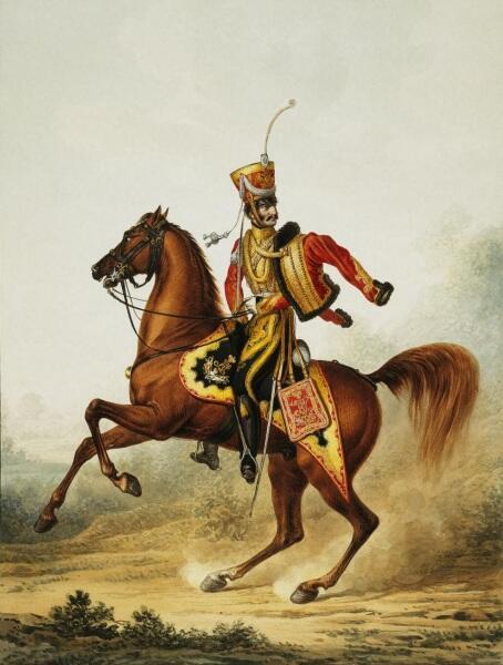 А. И. Зауервейд, «Штаб-офицер лейб-гвардии гусарского полка»