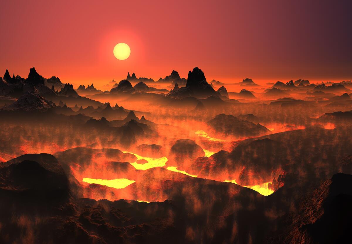 Какие вулканы есть в Солнечной системе?