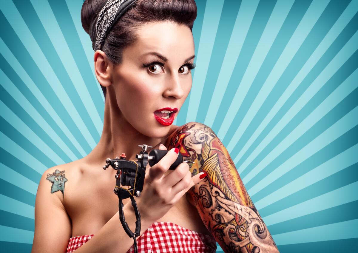 Прикольные картинки с татуировками