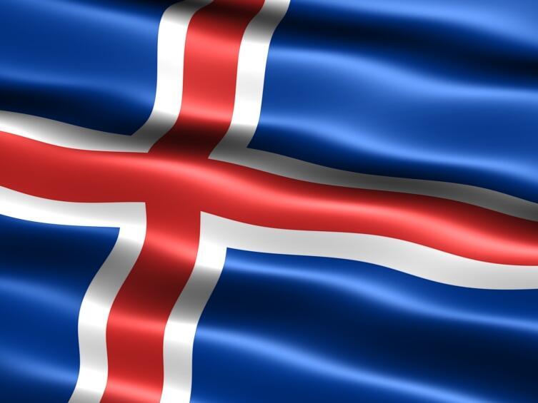 Исландский флаг