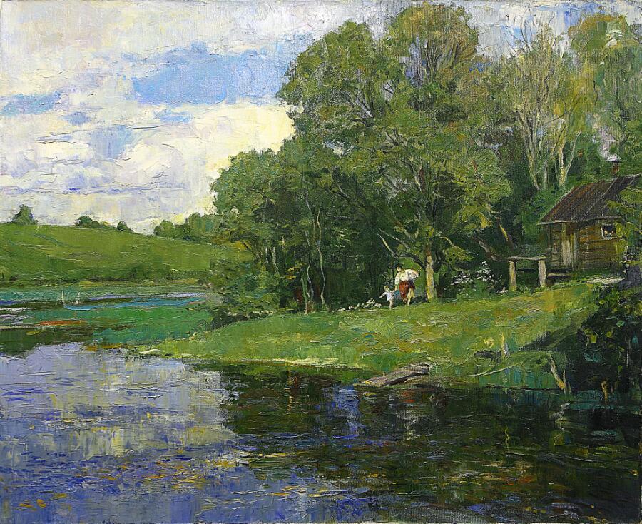 М. М. Герасимов, «Банька», 1997 г.