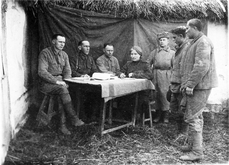 Заседание Военного трибунала 354-ой стрелковой дивизии