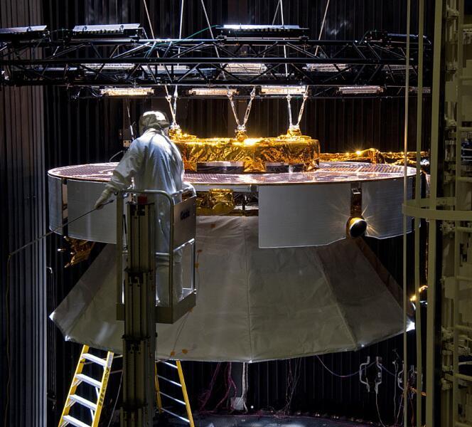 Сборка Mars Science Laboratory