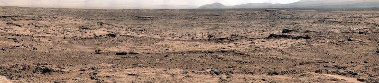 Снимок поверхности Марса, 26 ноября 2012 г.