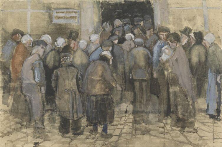 Винсент Ван Гог, «Офис государственной лотереи», 1882 г.