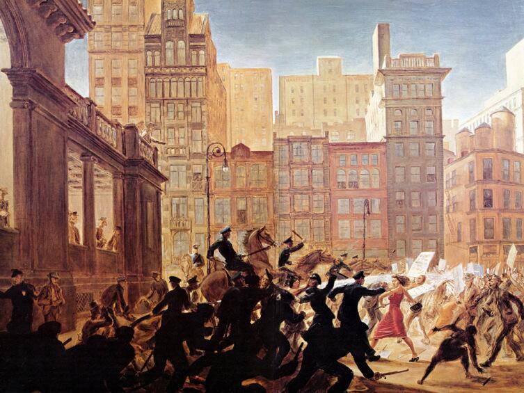 Питер Хопкинс, «Бунт на Юнион-Сквер»