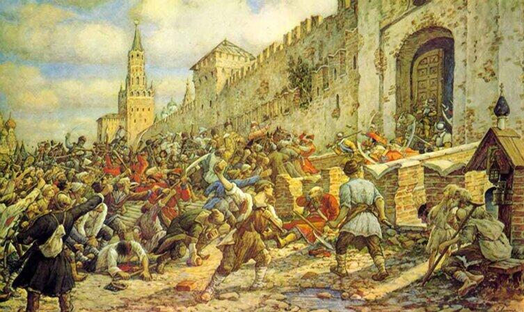 Э. Э. Лисснер, «Соляной бунт в Москве, 1648 г.», 1938 г.