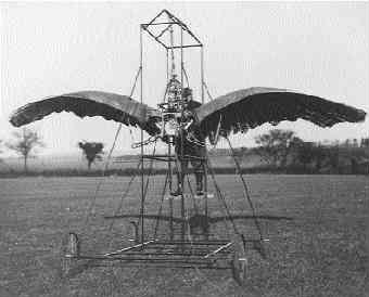Орнитоптер Эдварда Фроста из ивы, шёлка и перьев, 1902 год