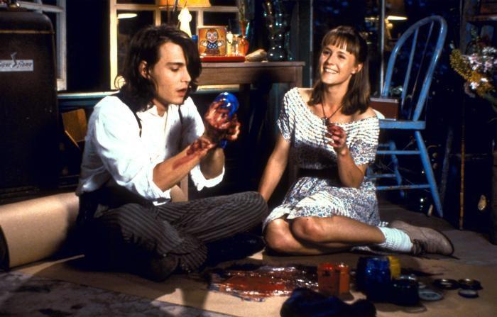 Кадр из к/ф «Бенни и Джун», 1993 г.