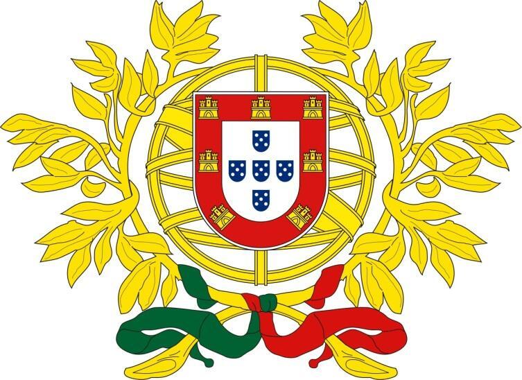 Герб Португалии официально принят 30 июня 1911 года
