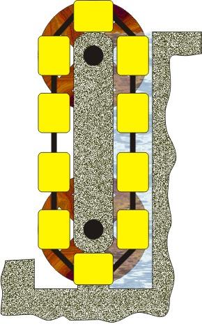 Конструкция вечного двигателя, основанного на законе Архимеда