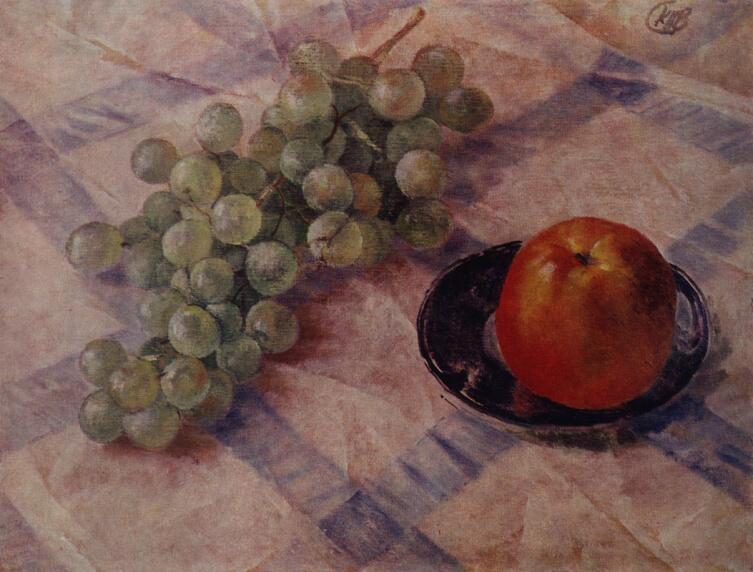 К. С. Петров-Водкин, «Виноград и яблоко», 1921 г.