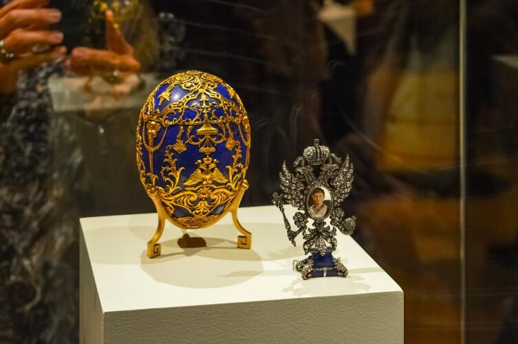 Яйцо Фаберже с портретом царевича Алексея