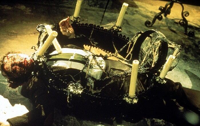 Кадр из к/ф «Легенда адского дома», 1973 г.