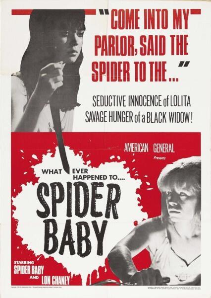 Постер фильма «Паучонок, или Безумнейшая история из когда-либо рассказанных», 1967 г.