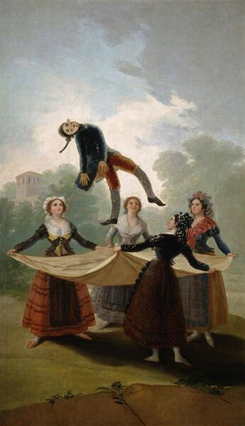 Франсиско Гойя, «Соломенное чучело (Марионетка)», 1792 г.