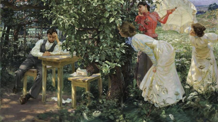 Франтишек Купка, «Библиоман», 1897 г.