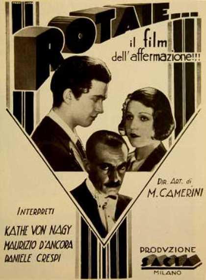 Постер фильма «Рельсы», 1929 г.