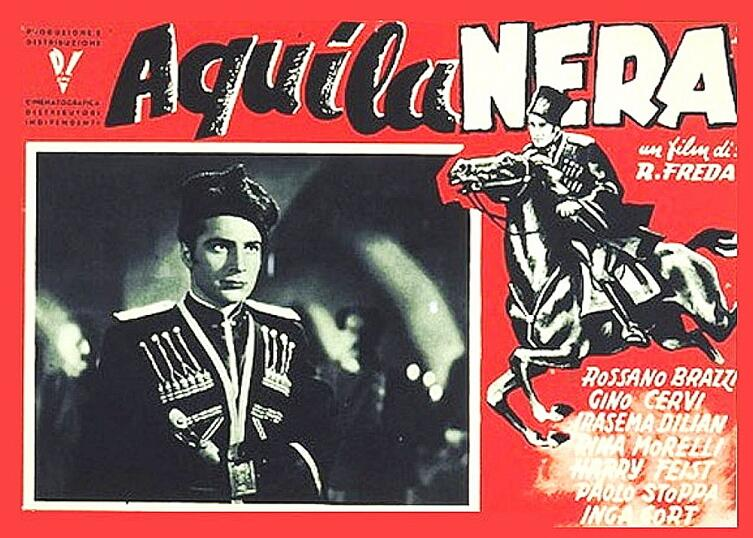 Постер фильма «Черный орел», 1946 г.