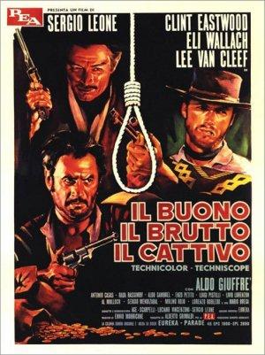 Постер фильма «Хороший, плохой, злой», 1966 г.