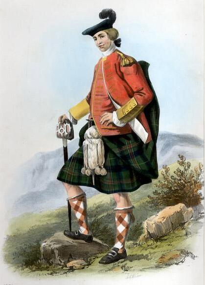 Robert Ronald McIan, «Шотландец из клана Кеннеди»