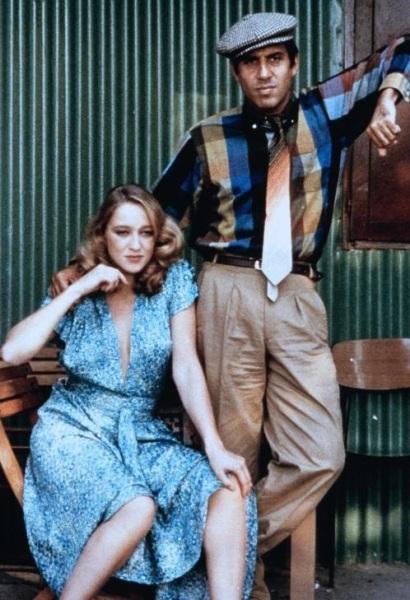Элеонора Джорджи и Адриано Челентано. Кадр из к/ф «Бархатные ручки», 1979 г.