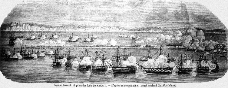 Бомбардировка крепости Кинбурн