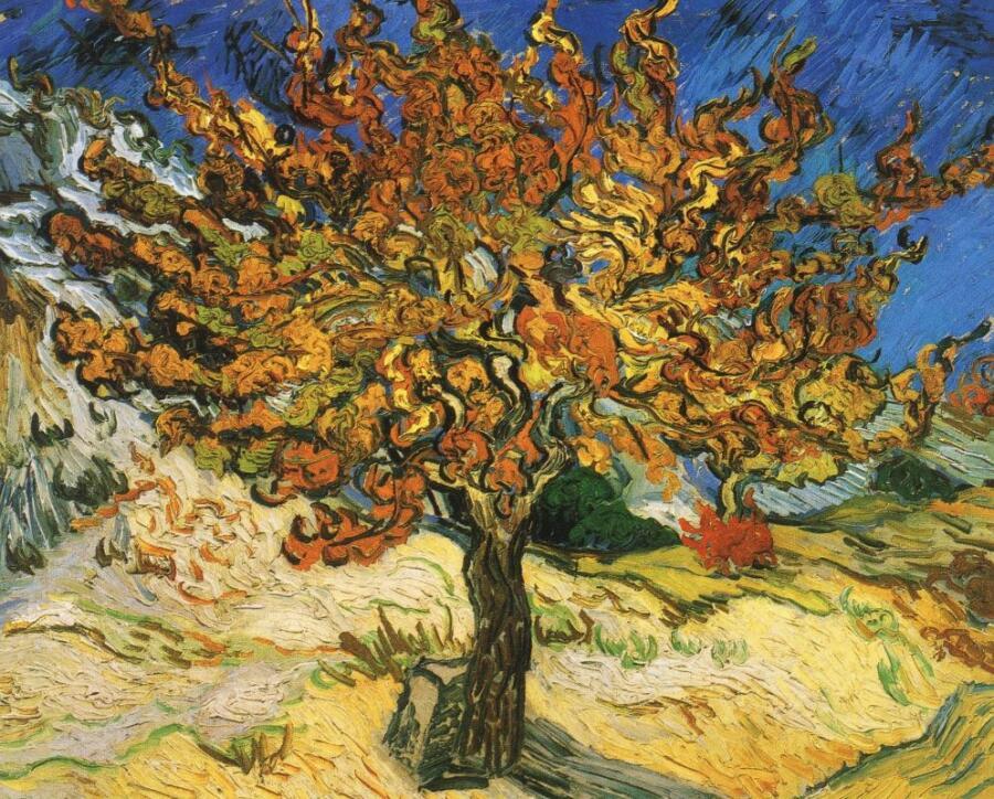 Винсент Ван Гог, «Шелковица», 1889 г.