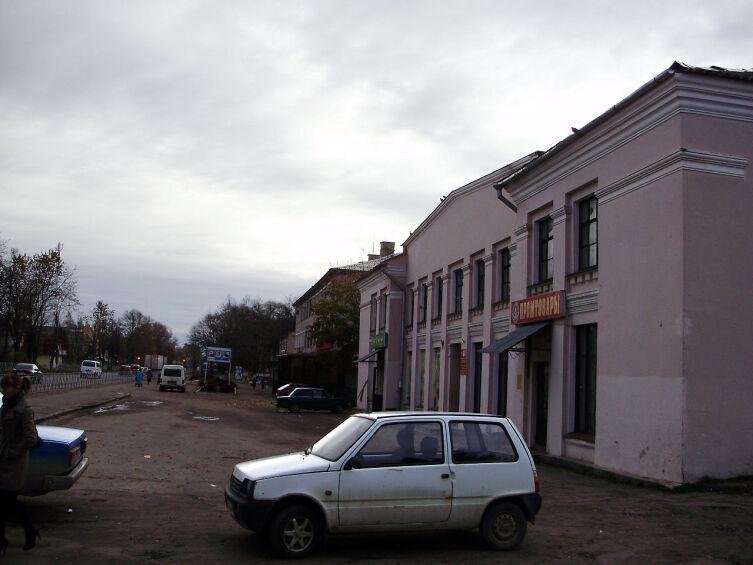 Промтоварный магазин в Пустошке