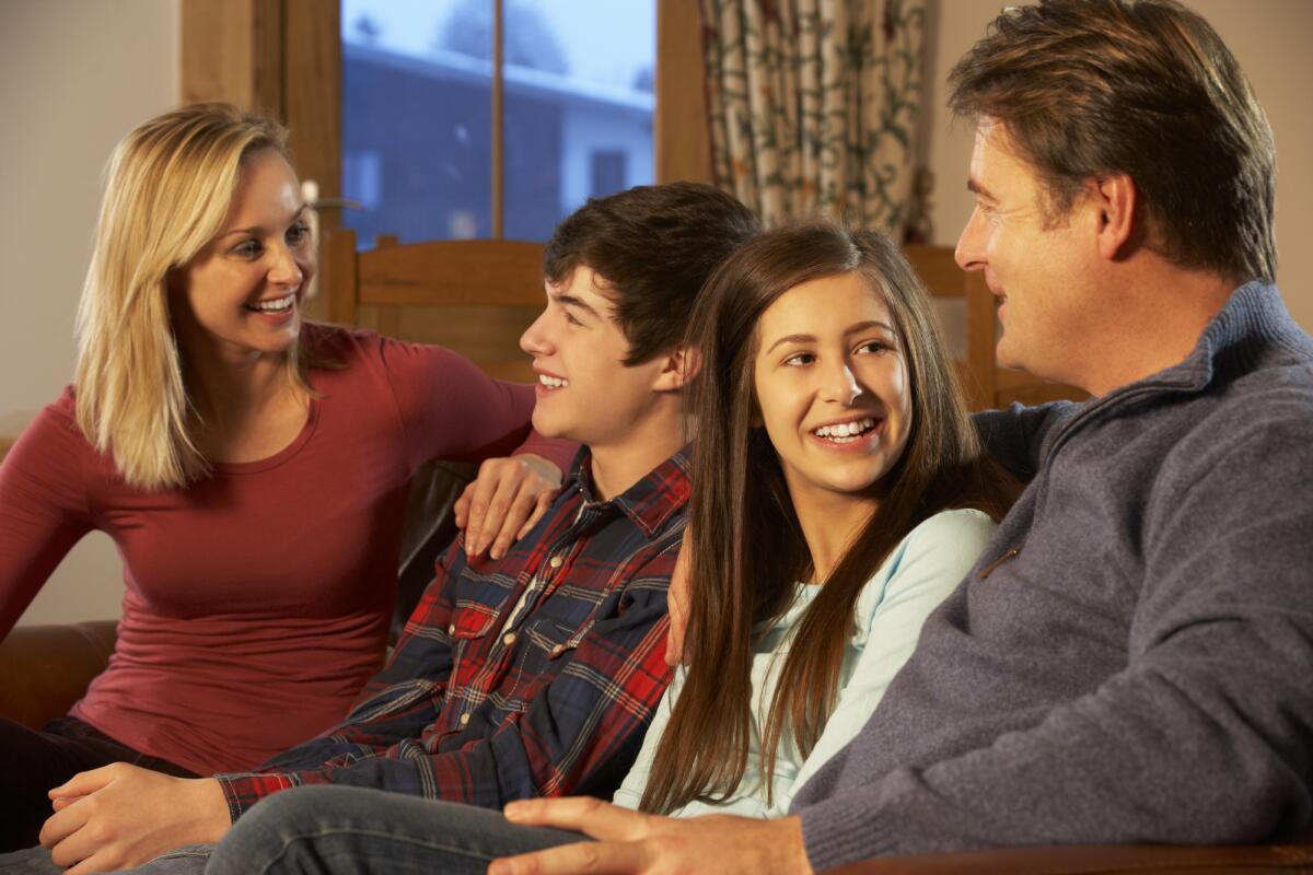 Картинки подростки в семье