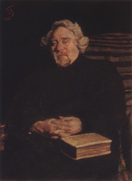 С. В. Малютин, «Портрет С. А. Басова-Верхоянцева», 1925 г.