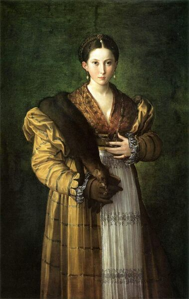 Франческо Пармиджанино, «Антея»