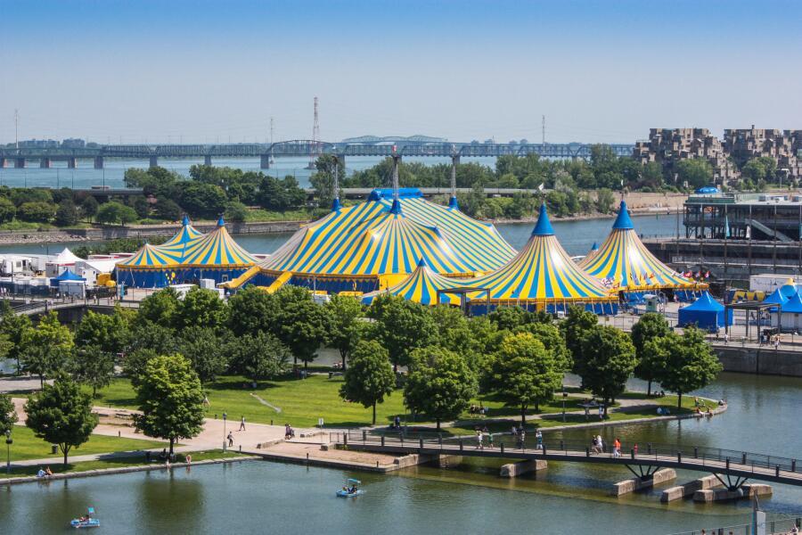 Cirque du Soleil в Монреале, Канада