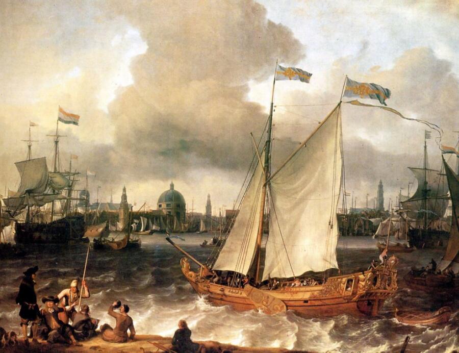 Людольф Бакхёйзен, «Порт Амстердама»