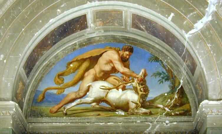 Геракл и Керинейская лань