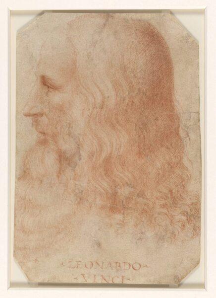 Франческо Мельци, «Портрет Леонардо да Винчи (приписывается Мельци)», 1517 г.