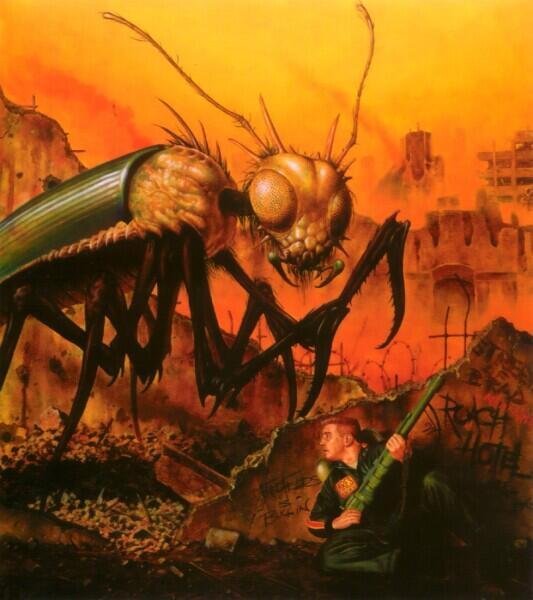 Фред Филдс, «Большое насекомое»