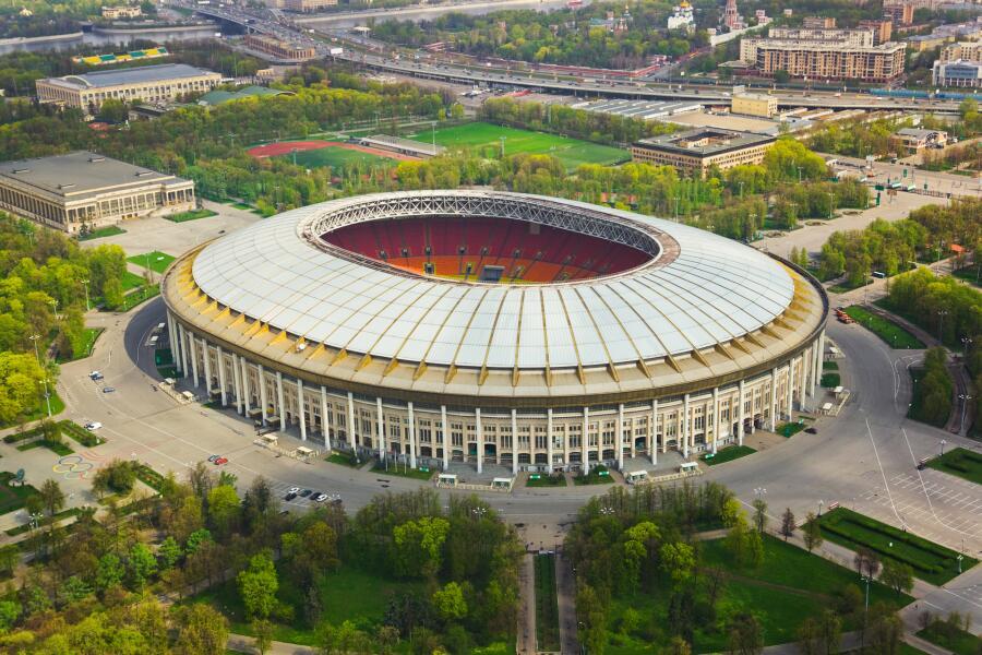 Стадион Лужники в Москве, Россия