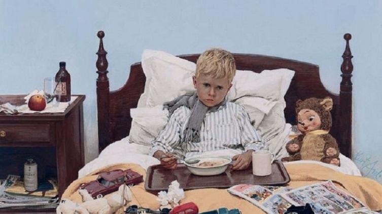 Курт Ард, «Скучающий больной» (фрагмент)
