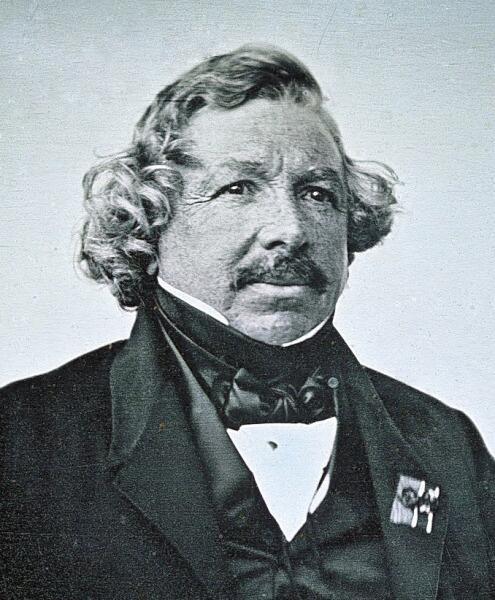 Дагеротипный портрет Дагера, 1844 г.