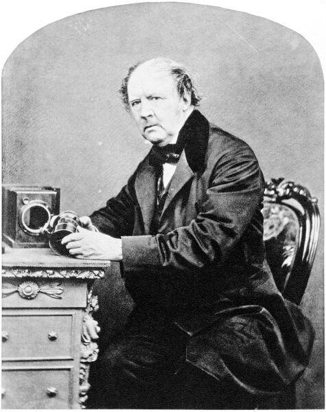 Уильям Генри Фокс Тальбот в 1864 г.