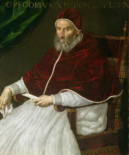Лавиния Фонтана, «Григорий XIII»