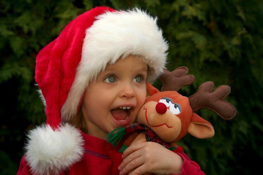 Как в упряжке Санта-Клауса появился девятый олень? История Красноносого Рудольфа
