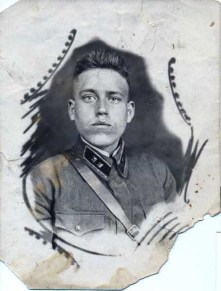 Отец, Голубков Николай Ефимович, 1942 г., февраль