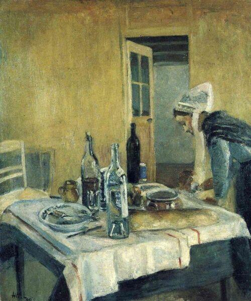 Анри Матисс, «Горничная», 1896 г.