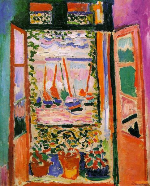 Анри Матисс, «Открытое окно», 1905 г.