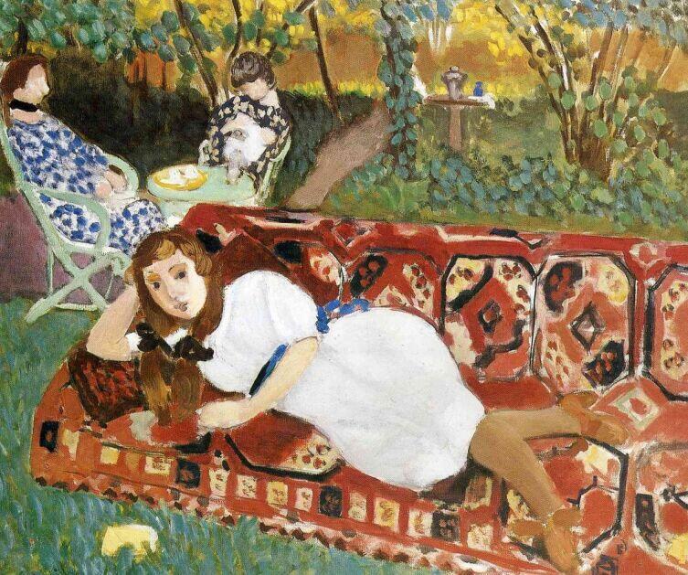 Анри Матисс, «Молодые женщины в саду», 1919 г.