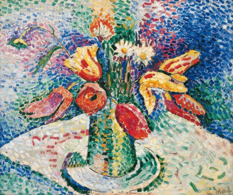 Анри Матисс, «Попугайные тюльпаны», 1905 г.