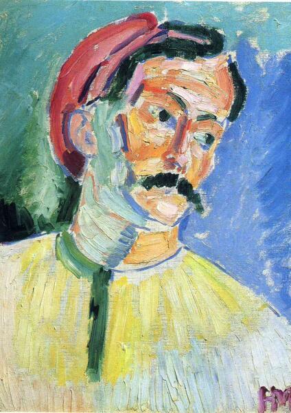 Анри Матисс, «Портрет Андре Дерена», 1905 г.