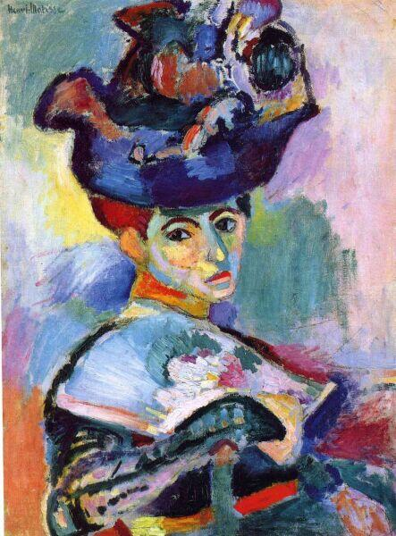 Анри Матисс, «Женщина в шляпе», 1905 г.